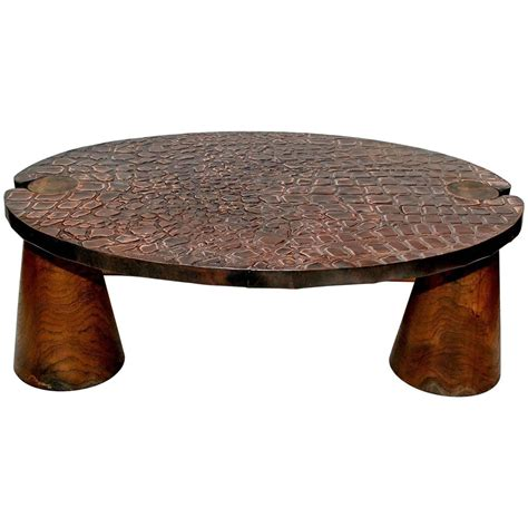 copper coffee table copper coffee table at 1stdibs