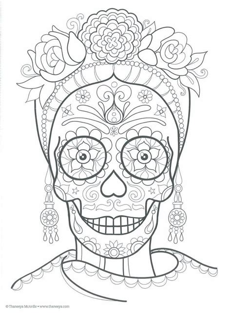 dia de los muertos calavera coloring page 355 best calavera images on pinterest skull rings rings