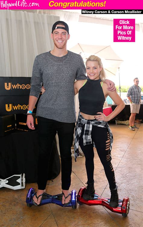 whitney dancing with the stars engaged who is whitney carson engaged to newhairstylesformen2014 com