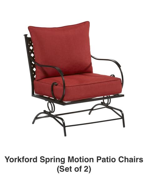 c motion patio chair shop the yorkford patio collection on lowes