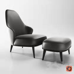 Armchairs Furniture 3d Models Arm Chair Minotti Leslie Armchairs Bergere