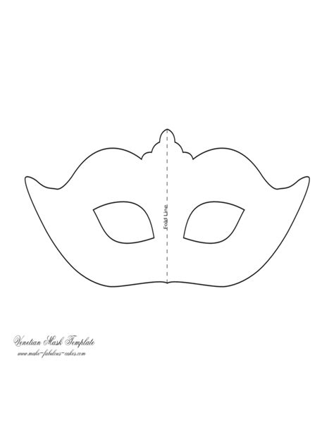 Mask Template by Sle Mask Template Free