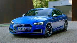 the new audi s5 sportback in blue is amazing