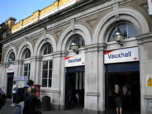 Vauxhall Rail Station Vauxhall Railway Station Kennington 169 Robin Sones