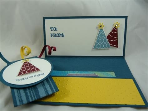 Sted Birthday Cards Stin Up Gift Card Holder Cards Pinterest Gift