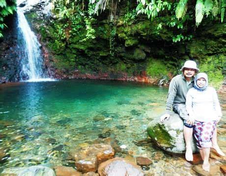 wisata  curug pangeran gunung bunder bogor tempat