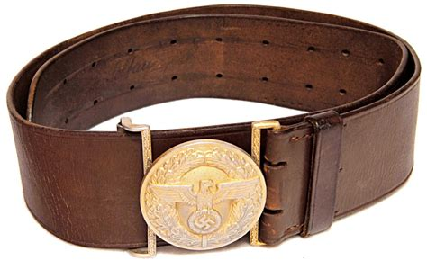 third reich belts and belt buckles guns and treasures