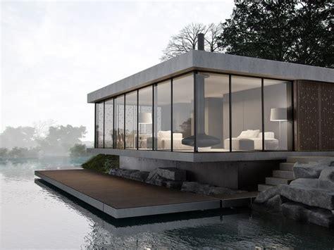 best 25 modern lake house ideas on mountain