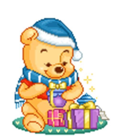 imagenes animadas de navidad de winnie pooh gifs animados de dibujos animados de navidad gifmania