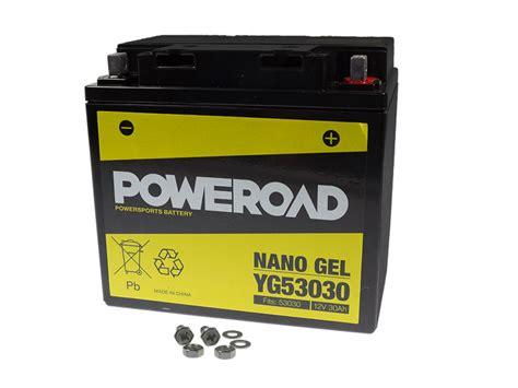 Motorrad Gel Batterie 30ah by Gel Batterie Poweroad 53030 Y60 N30l B 30ah Bmw R 100 Gs