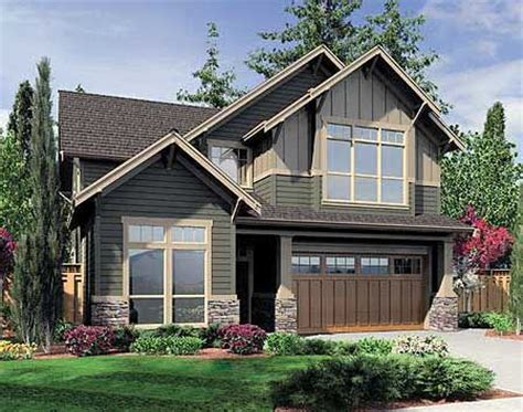 narrow lot craftsman style house plans plan 6993am charming bungalow for a narrow lot house