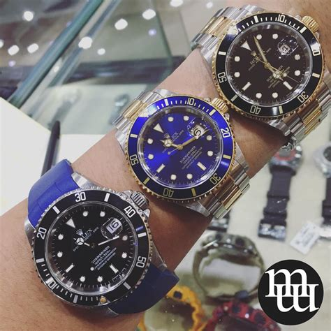 jual jam tangan rolex submariner moonphasewatches