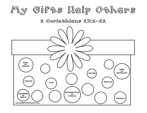 coloring pages gifts of the holy spirit spiritual gifts coloring page coloring pages