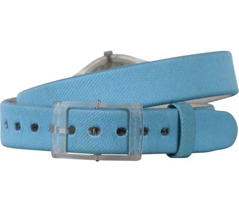 Jam Tangan Swatch Preloved swatch blue