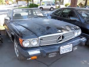 Mercedes 380sl Parts 1981 Mercedes 380sl R107 Parts Car Stock 005405