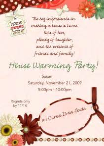 sample house warming invitation cards