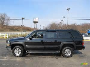 black 2006 chevrolet suburban lt 2500 4x4 exterior photo