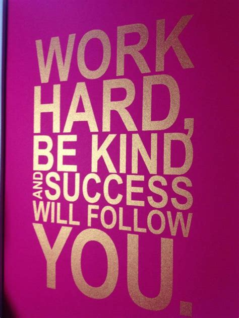 Quotes About Hard Work And Success. QuotesGram