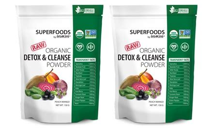 Groupon Detox by Up To 42 On Mrm Detox Powder Supplement Groupon Goods