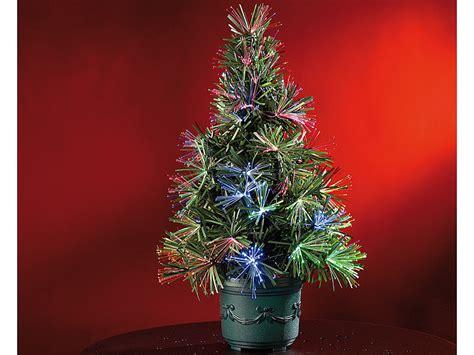 mini weihnachtsbaum mit beleuchtung lunartec led weihnachtsbaum mit glasfaser farbwechsler