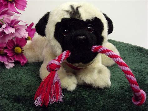 realistic stuffed pug hasbro furreal realistic plush pug stuffed animal electronic mastiff h3b18