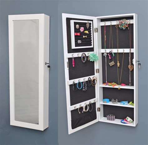 Wall Mirror Jewelry Cabinet by Wall Cabinet With Mirror Jewelry Cabinet Jewelry Chest Of