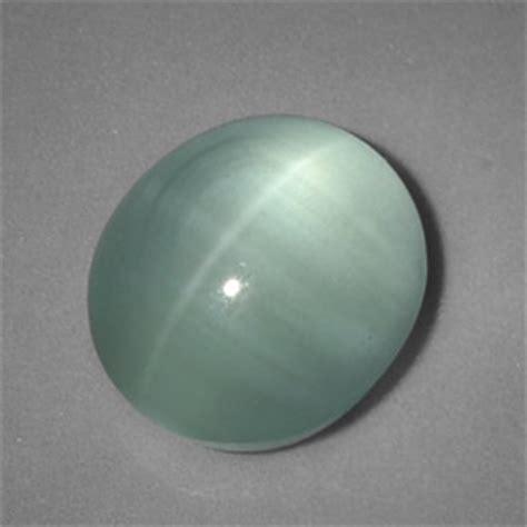 5 2 carat blue green cat s eye aquamarine gem from