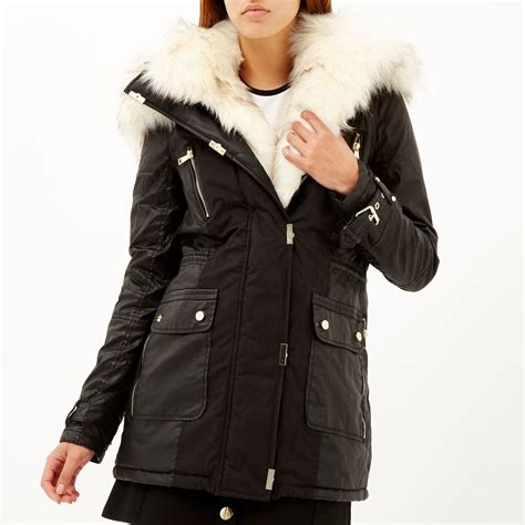 Parka Jaket By Salsabila Colection river island faux fur coats and jackets tradingbasis