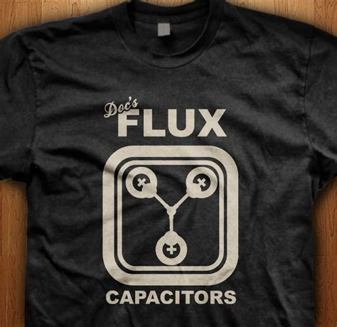 definition of flux capacitor doc s flux capacitors official back to the future t shirt
