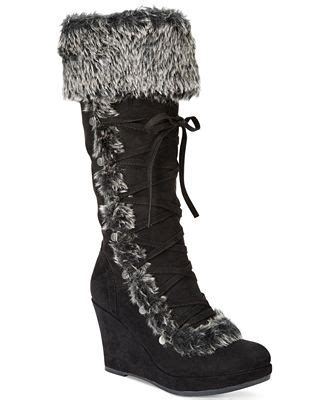 report pearson cold weather wedge boots boots shoes