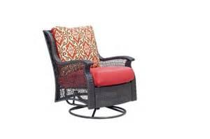 Backyard Creations Allenwood Sectional Backyard Creations 174 Allenwood Swivel Glider Chair At Menards 174