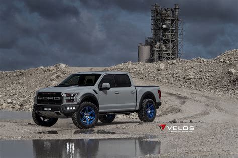 Wheels 2017 Gray 2 2017 avalanche grey ford raptor on velos s6 forged wheels velos designwerks