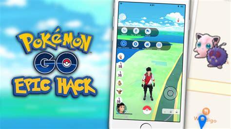 pokemon  hack tap  walk map hack