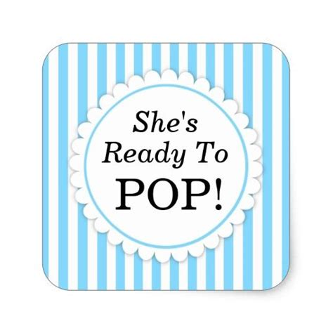 Pop Nosh Baby Blues by 1000 Ideas About Ready To Pop On Baby Showers