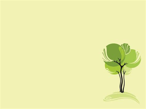 background design of ppt green design tree ppt backgrounds nature templates ppt