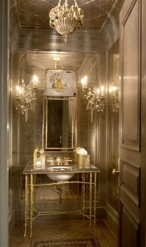 15 luxury powder room designs