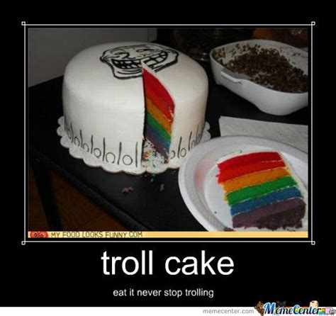 Meme Cake - troll cake by hadoken123 meme center