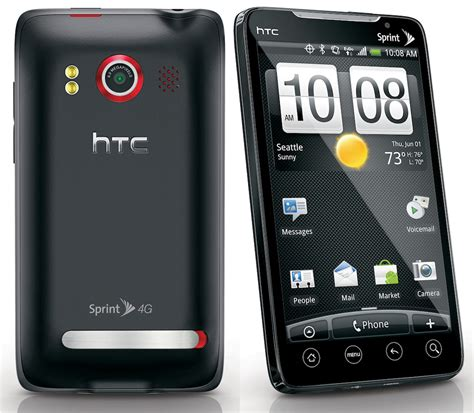 sprint android phones htc evo 4g is sprint s 4g handset with android 2 1 and a kickstand slashgear