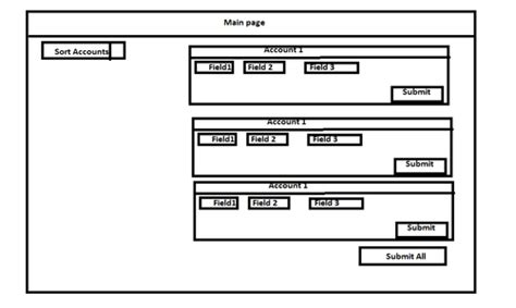 design mvc application jquery mvc application design with submit and sort