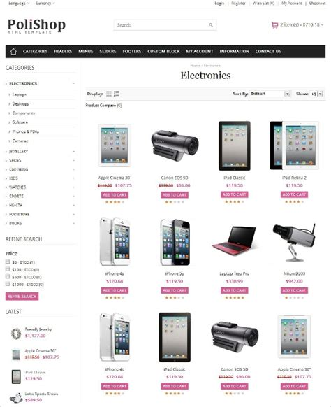 22 Best Mobile Store Mobile Templates Themes Free Premium Templates Free Responsive Ecommerce Website Templates