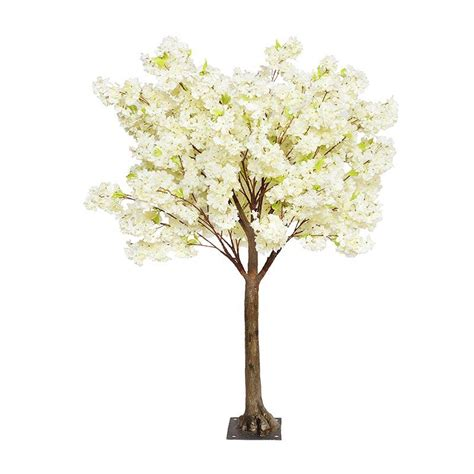 cherry blossom artificial artificial cherry blossom tree with artificial trunk