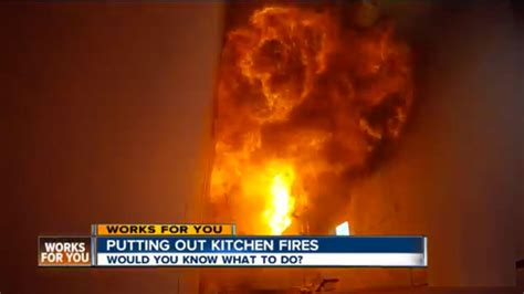 how to put out a fireplace kitchen how to put out a grease