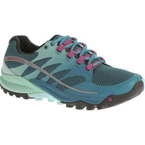 merrell womens running shoes merrell all out charge trail running shoe s