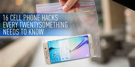 25 life hacks you need to know mailsgrid 16 cell phone hacks every twentysomething needs to know