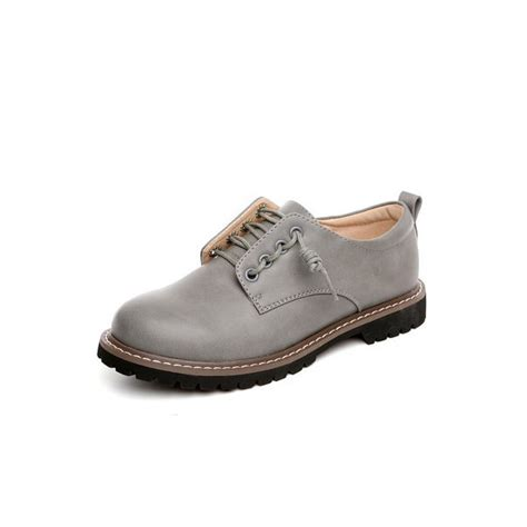 gray oxford shoes womens s grey lace up oxfords flats toe vintage shoes