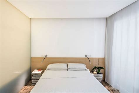 Bedroom Sliding Glass Doors This 64sqm Apartment Reimagines Space Using Partitions And