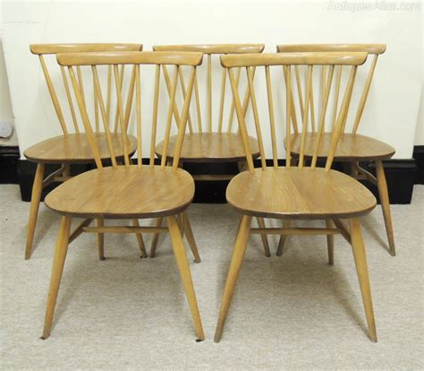 1950s ercol dining chairs antiques atlas retro ercol set of 5 dining chairs