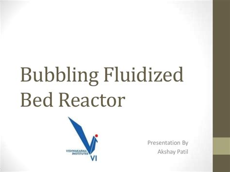 fluidized bed reactor bubbling fluidized bed reactor