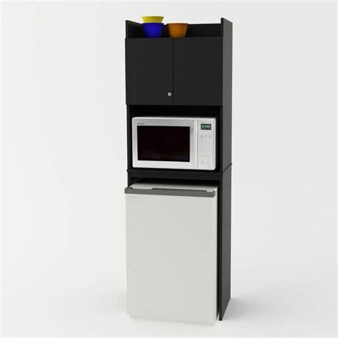 microwave storage cabinet refrigerator cart room mini
