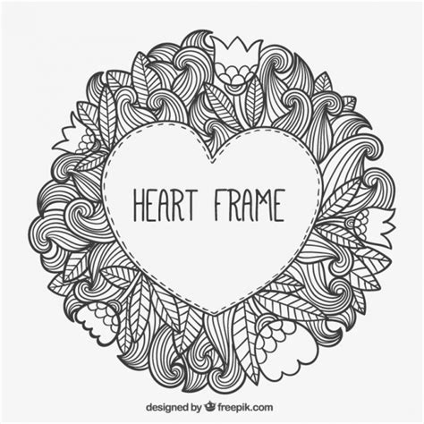 free vector computer doodle frame in doodle style vector free
